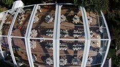 Hidden Pond Luxury Resort Wedding in Hiddenpond Wedding in Kennebunkport, Maine Tent Wedding, Wedding Rentals, Wedding Reception Decorations, Luxury Wedding, Clear Tent, Ladder Decor, Pond, Real Weddings, Kennebunkport Maine