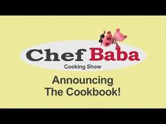 Announcing Chef Baba Cookbook - Pre-Order Now