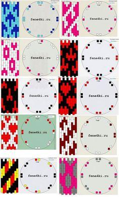 плоское кумихимо схемы - Поиск в Google