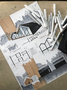 Discover recipes, home ideas, style inspiration and other ideas to try. Sketchbook Architecture, Concept Board Architecture, Croquis Architecture, Architecture Drawing Art, Landscape Architecture Model, Architecture Portfolio Layout, Architecture Concept Drawings, Conceptual Architecture, Architecture Presentation Board