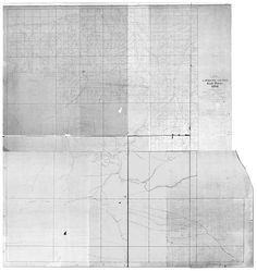 Lawrence County South Dakota 1894 - Wall Map with Landowner Names - Reprint - Farm Lines. This South Dakota county wall map shows all the old roads, farm lines, landowner, lot numbers and place names. The reprint is made from the original on file at the Library of Congress. We have reversed the original blueprint image to improve the appearance and legibility. While not the most attractive map, it's still a great resource for genealogists and history lovers! We offer this map reprint in...