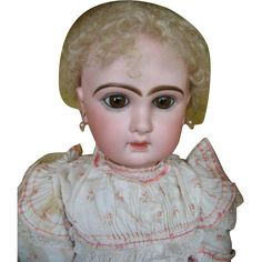 Jumeau closed mouth no 12, All original in the box !  27 inches or 68 cm.