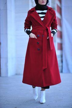 We Love Modest Fashion! Islamic Fashion, Muslim Fashion, Modest Fashion, Girl Fashion, Fashion Outfits, Hijab Elegante, Hijab Chic, Hijab Style Dress, Casual Hijab Outfit