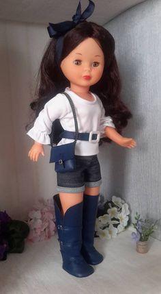 VESTIDOS CALZADO Y COMPLEMENTOS NANCY ,LESLI Marie Clare, Pram Toys, Nancy Doll, American Girl Crafts, Doll Shoes, Hello Dolly, Girl Doll Clothes, Barbie, Dolls