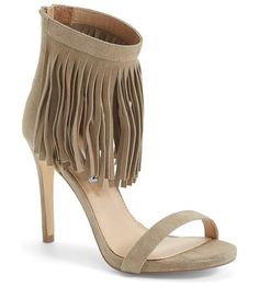 STEVE MADDEN staarz ankle fringe sandal found on Nudevotion