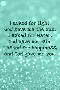 God gave me you.