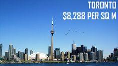 "Toronto property average price per square meter (original image by ""Ken Doerr"" via flickr)"