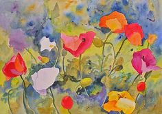 """Poppy Meadow"" - by Kay Smith"