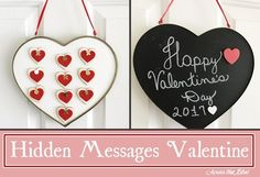 Hidden Messages Valentine Across the Blvd