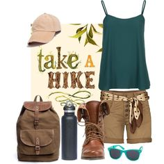 """""""Hike"""" by boomerwashere on Polyvore"""