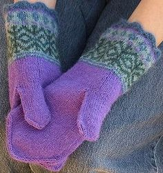 amittens1 by knitting in color, via Flickr