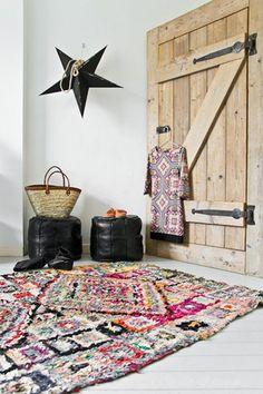moroccan rug boucherouite carpet beni ouarain interior - marokkaans tapijt kleed interieur4