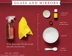 Thieves Glass and Mirror Cleaner.