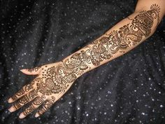 Arm Mehndi Style : Pin by fashioncluba on stylish full hand mehndi designs