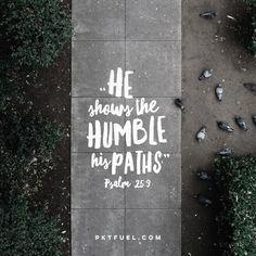 Psalms 25:9