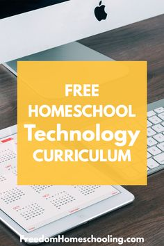 Freedom Homeschooling | Free Homeschool Technology Curriculum Secular Homeschool Curriculum, Curriculum Planning, Homeschooling, Typing Skills, School Computers, Coding For Kids, Online Lessons, Freedom, Technology