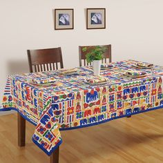 Buy designer designer lively folk table covers for your dinning room online in india from saavra.com & spruce up your mood in a matter of seconds.