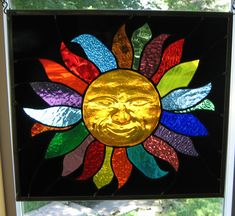 Stained Glass Heirlooms: 3D Smiling Sun