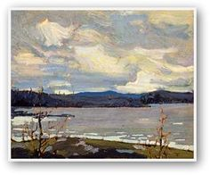 Tom Thomson Cold Spring In Algonquin Park, Canadian Group of Seven Group Of Seven Art, Group Of Seven Paintings, Paintings I Love, Beautiful Paintings, Canadian Painters, Canadian Artists, New Artists, Famous Artists, Emily Carr