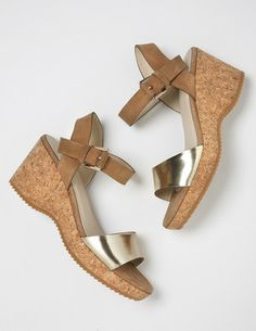 What could be better than a wedge sandal? A wedge sandal from Boden!