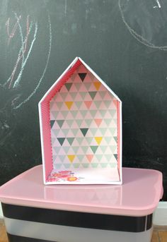 Shoebox House DIY on PencilandThread.us