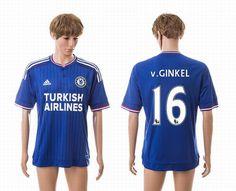 2015-2016 Chelsea thai version soccer jerseys 36