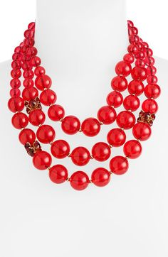 Bowery Ball Multi Row Necklace