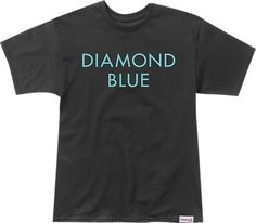 Diamond Blue T-Shirt- now available at Warehouse Skateboards! #whskate #spring2015 #skateboarding
