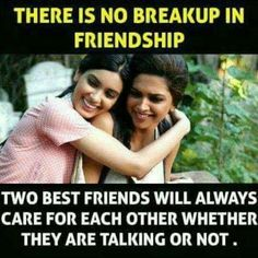 Friends, memes, and best: there is no breakup in friendship two best friends Best Friend Quotes Funny, Besties Quotes, Cute Funny Quotes, Bestfriends, School Life Quotes, Crazy Girl Quotes, Girly Quotes, Forever Quotes, Real Friendship Quotes