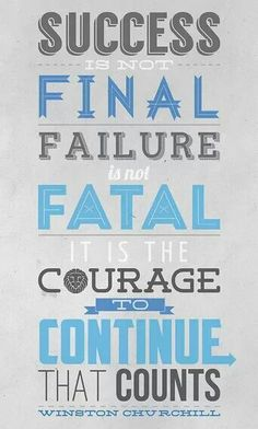 Failure and sucess