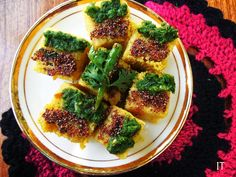 Indian Tadka: UNDER 15 MINUTE DHOKLA RECIPE Guests due in 20 min...