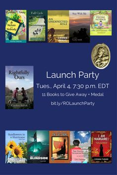 Facebook Launch Party for the Catholic teen novel/coming of age story Rightfully Ours by Carolyn  Astfalk