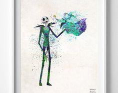Imprimir Lilo cartel de puntada puntada arte imprimir
