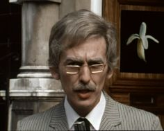 "George Harrison (as the reporter in ""The Rutles"" skit ""All You Need Is Ca$h"")"