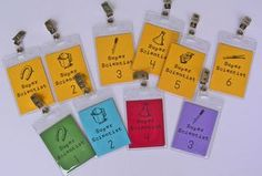 Science-Badges - Great way of managing whole class science investigations