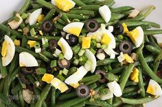 String Bean Salad - good source of Vitamin C and fiber in a side dish!