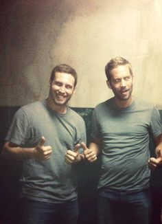 Paul and Stephane, his stuntman in Brick Mansions