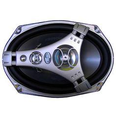 Комплект овальной коаксиальной автомобильной акустики BM Boschmann XLR-9949S
