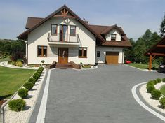 Projekt domu Gracjan 131,33 m2 - koszt budowy 249 tys. zł - EXTRADOM Outside Steps, Amaryllis Bulbs, Driveway Design, Backyard Pool Designs, Attic Rooms, Cool Things To Buy, House Plans, Sweet Home, Outdoor Structures