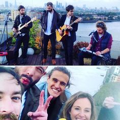 Had loads of fun filming a brand new song for @balconytvlondon #London #BalconyTV #Filming