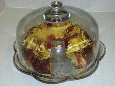 Orange chiffon cake Orange Chiffon Cake, Pudding, Desserts, Food, Tailgate Desserts, Puddings, Dessert, Postres, Deserts