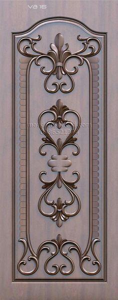 Wooden Front Doors With Glass Flush Door Design, Wooden Main Door Design, Double Door Design, Custom Wood Doors, Wood Front Doors, Wooden Doors, Barn Doors, Bedroom Door Design, Door Design Interior