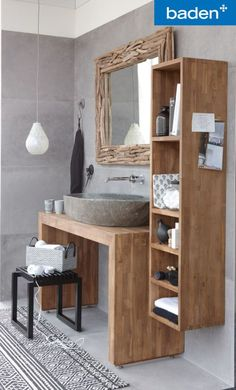 Some space in the house has a small dimension to save things, such as the bathroom. Keep every little thing to examine and simplify your morning regimen with these small bathroom storage ideas Bathroom Inspiration, Bathroom Interior, Small Bathroom, Bathrooms Remodel, Rustic Bathrooms, Bathroom Decor, Interior, Bathroom Design, Home Decor