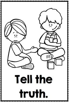 Images Coloring Good Manners Coloring Pages For Manners