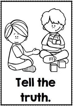 Clean Up After Yourself | Manners preschool, Preschool ...