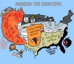 America's Beautiful Weather Zones