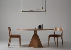 Debut furniture collection by Sydney-based architect Daniel Boddam explores architecture of the ancient world manifested in modern design. Furniture Dining Table, Modern Dining Table, Dining Room, Drawer Design, Wooden Tables, Furniture Collection, Modern Design, House Design, Home Decor