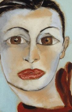 From the book - Life Is Paradise: The Portraits of Francesco Clemente
