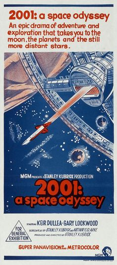 2001: A Space Odyssey -  Australian Poster