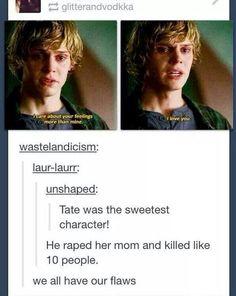 Tumblr funny american horror story tate
